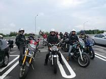 ダスキングループのバイク仲間による長野県ツーリング大会