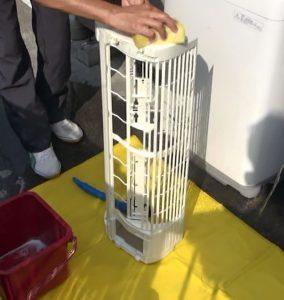 エアコンクリーニング作業その7